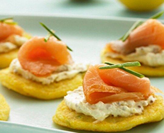 palačinke s receptom za losos i krem sir