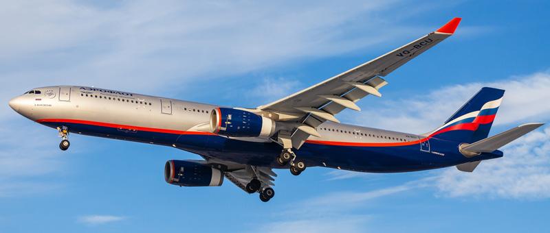A330-300 pri Aeroflotu