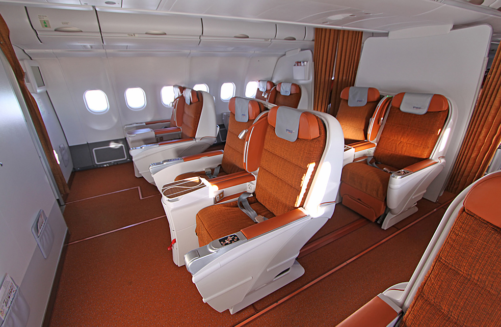 Poslovni razred v Aeroflotu na A330