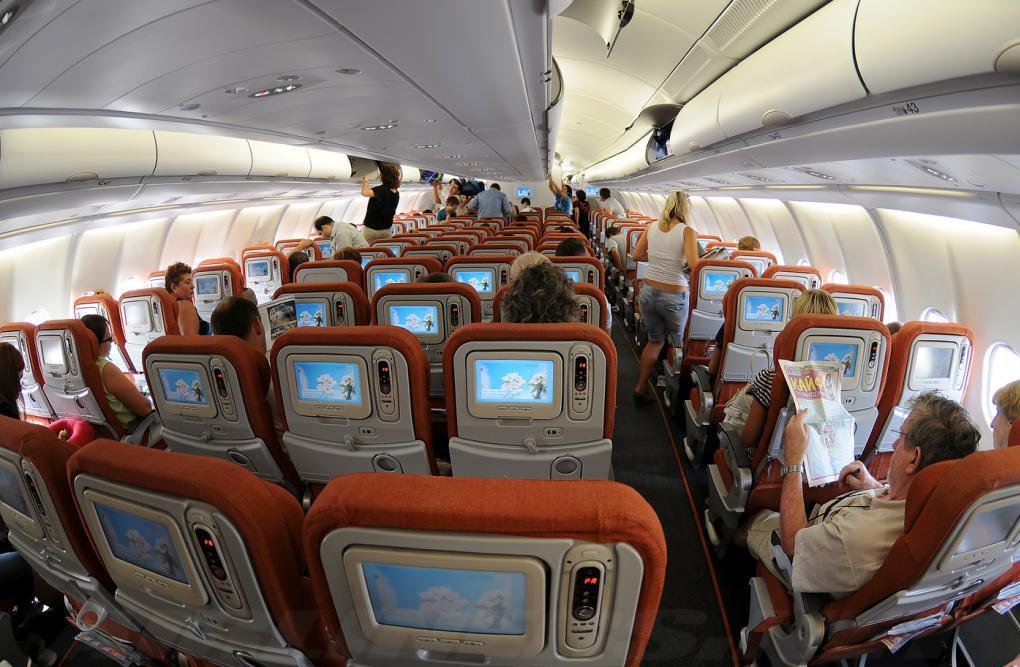 Ekonomski razred v Aeroflotu na A330