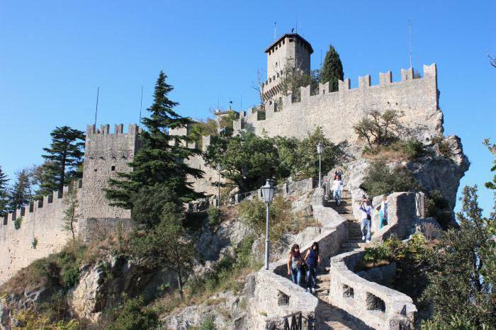zabytki San Marino