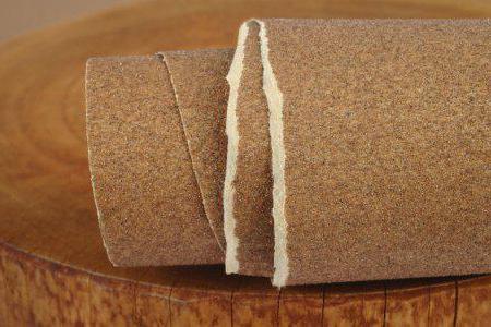 označevanje brusnega papirja
