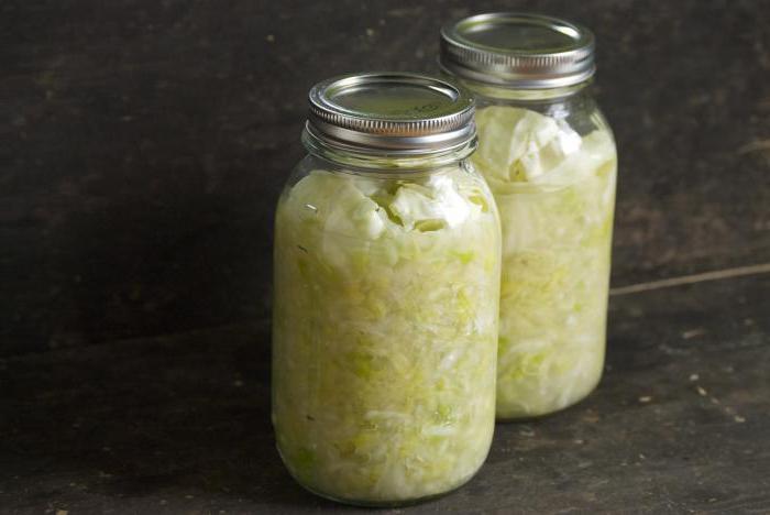 crauti senza ricetta sale