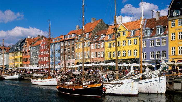 La Danimarca è un paese scandinavo.