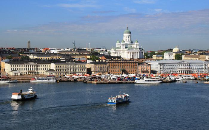 Finska: Skandinavska zemlja.