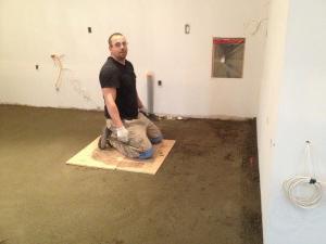 полусуха подова замазка