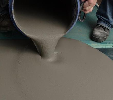 massetto di cemento