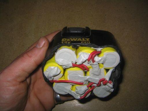 Riparazione della batteria del cacciavite fai-da-te