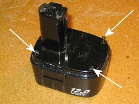 Batteria da 12 v per cacciavite