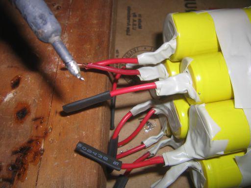Elementi batteria per la riparazione del cacciavite
