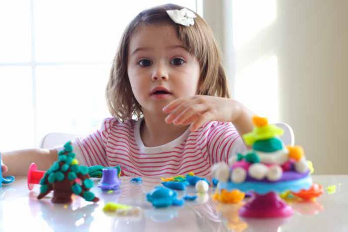 argilla modellabile per bambini