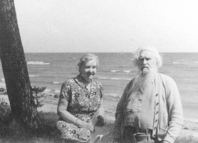 moglie scultore konenkov