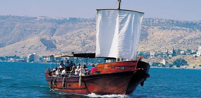 vacanza sul mare di Galilea