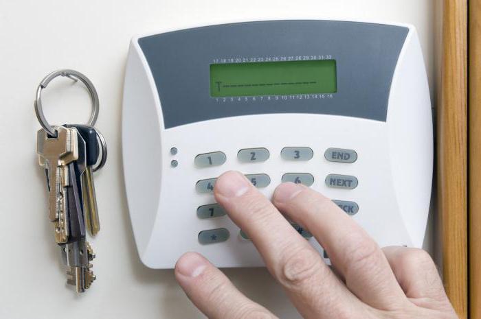 sistema di allarme domestico