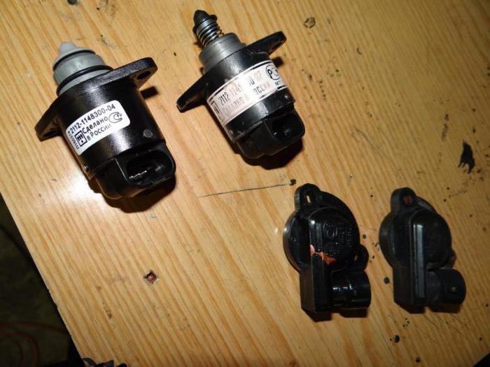 сензор на празен ход ваз 2110 8 клапана