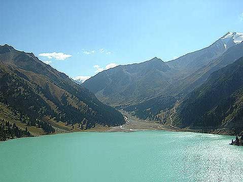 Одмор у Казахстану, Плава језера