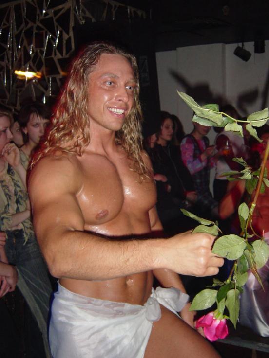 Tarzan.  Il vero nome è Sergey Glushko.