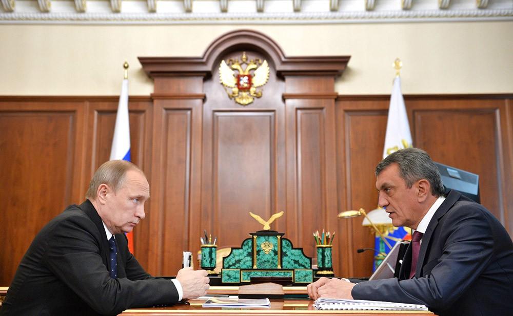 Menaylo e Putin