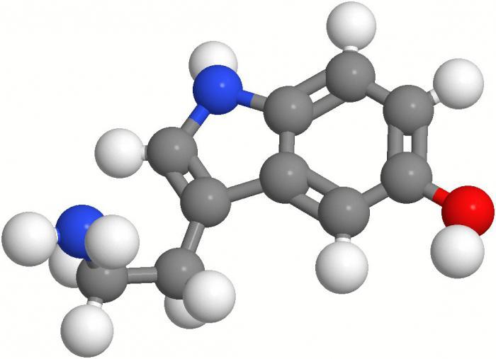 serotonina, kar je hormon