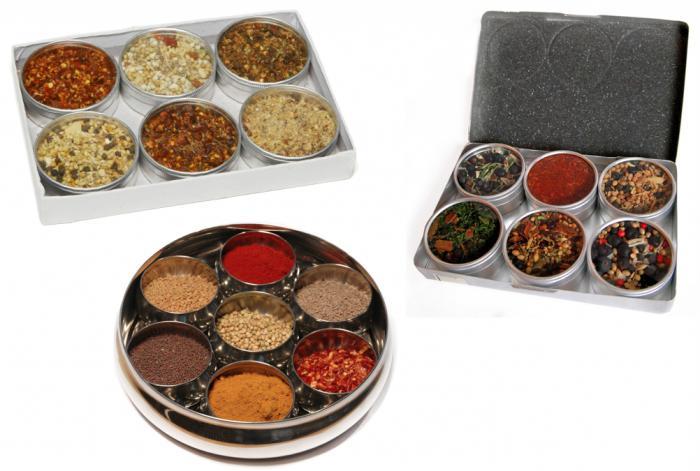 Spice Items Set