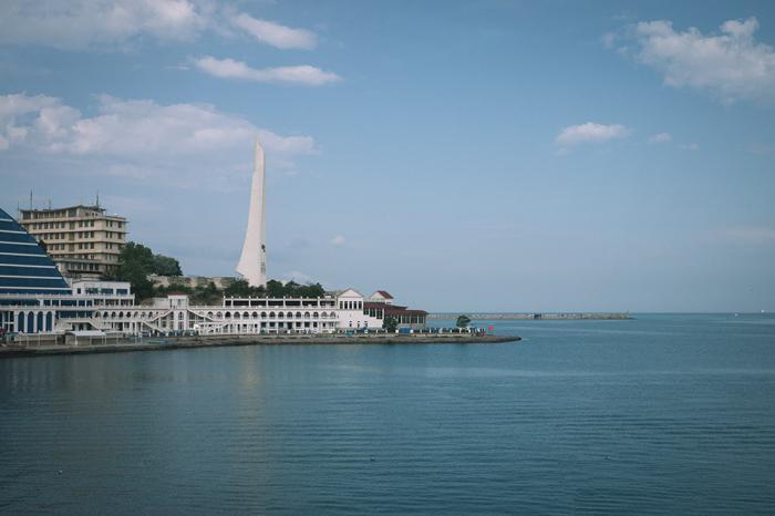monumenti di Sebastopoli per i turisti