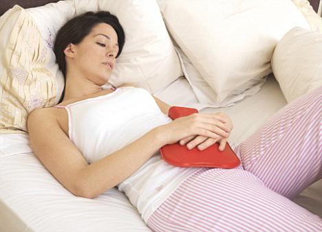 bolečine med menstruacijo, kako se znebiti