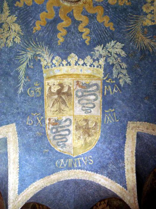 Fotografija dvorca Sforza