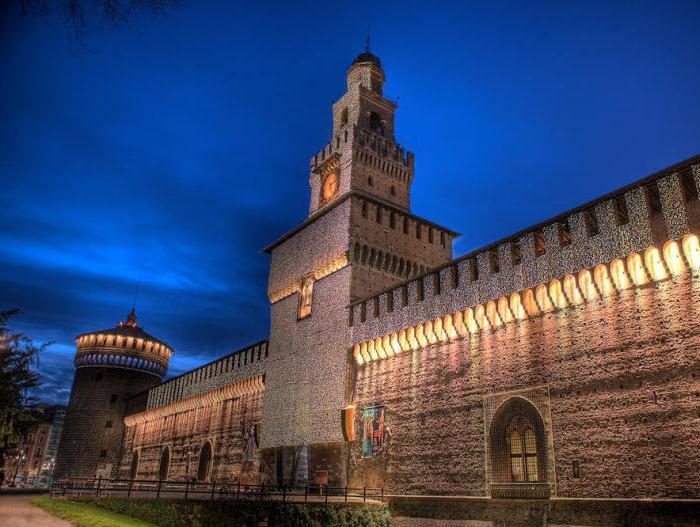Dvorac Sforza u Milanu kako stići tamo