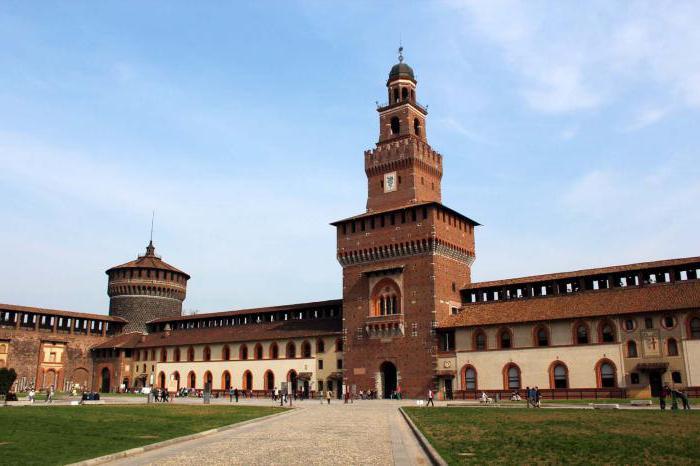 Дворац Сфорза у радном времену Милана