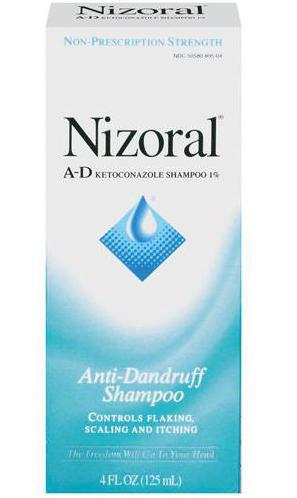 applicazione shampoo nizoral
