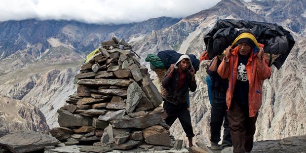 portatori di sherpa