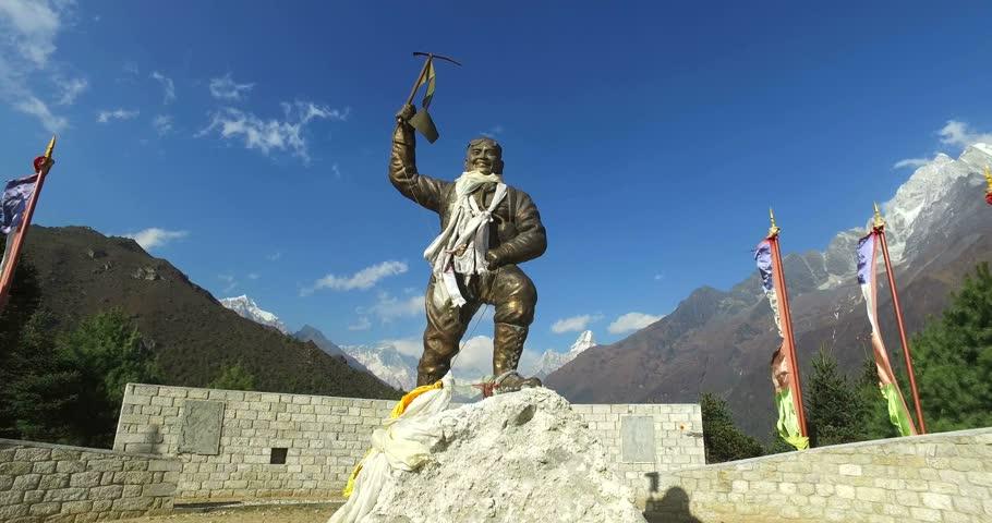monumento a Tenzing Norgay