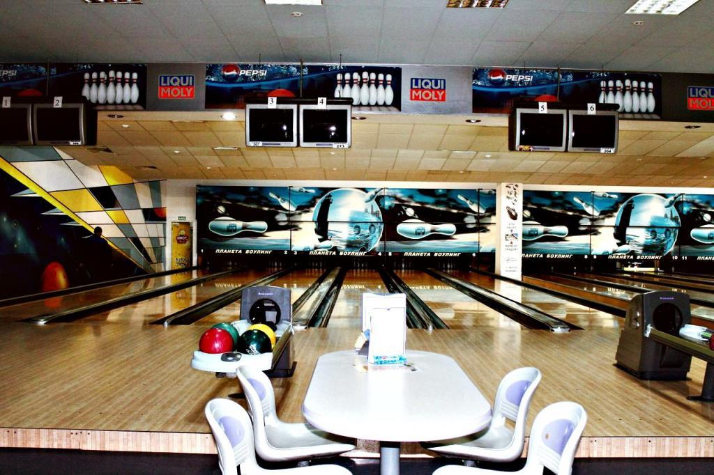 bowling park hiša yekaterinburg