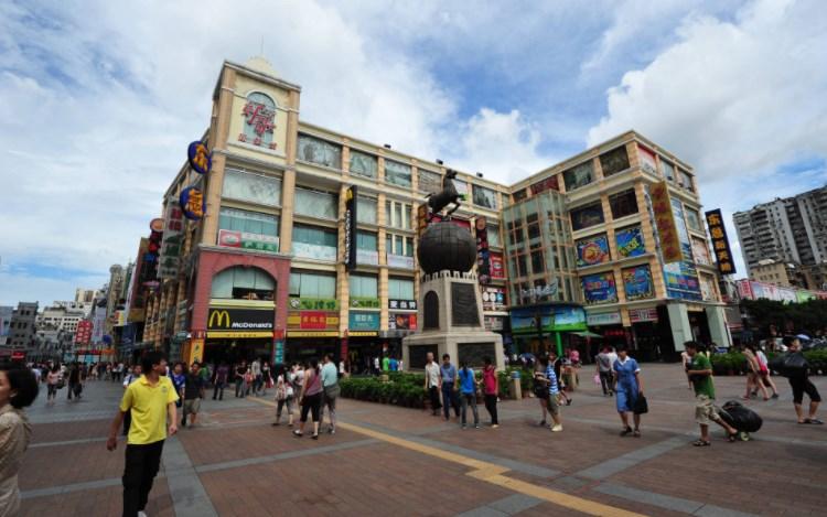 Централна улица на Гуанджоу