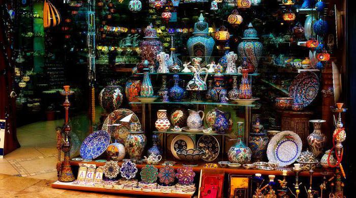 fare shopping in Turchia