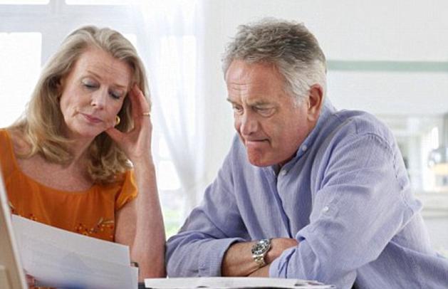deposito nella cassa di risparmio per pensionati