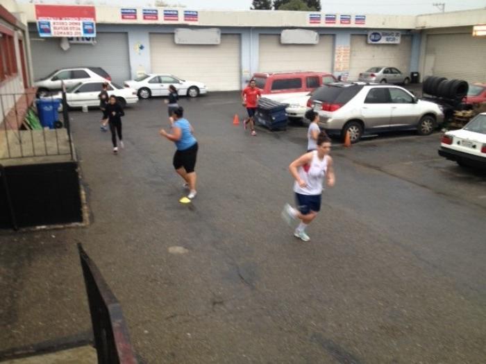correndo con accelerazione