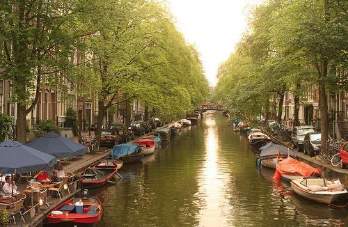 снимка на забележителностите на Амстердам