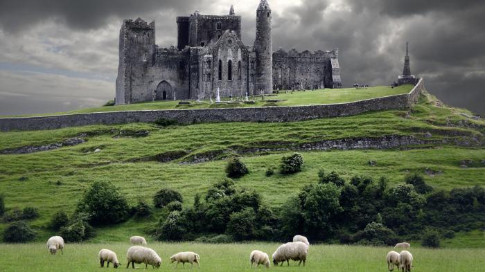 města irska