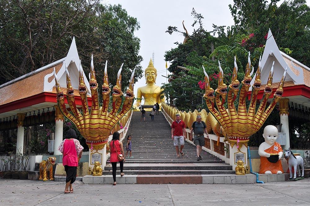 Tempio del Grande Buddha a Pattaya