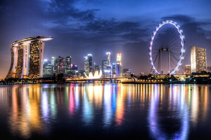 visite a Singapore