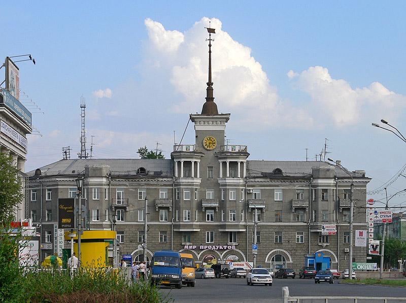 Casa sotto la guglia a Barnaul