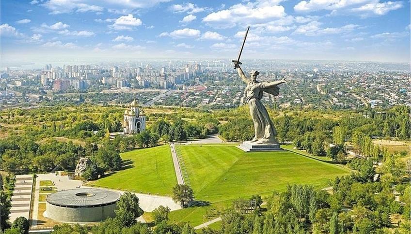 Mamayev Kurgan a Volgograd