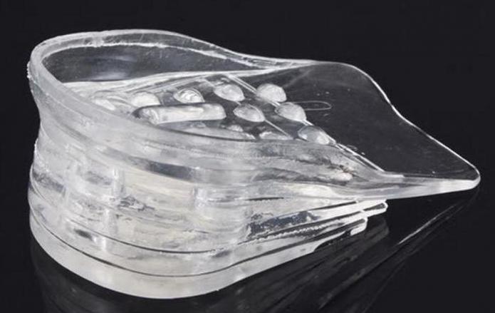 wkładki silikonowe do butów na obcasach