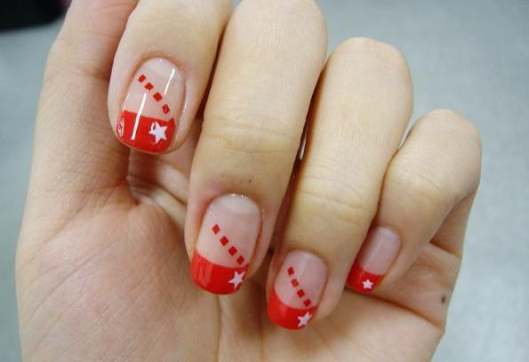 Disegni su unghie corte a casa