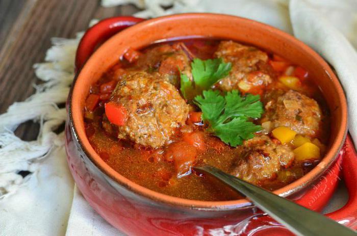 Рецепта за супа с кюфтета