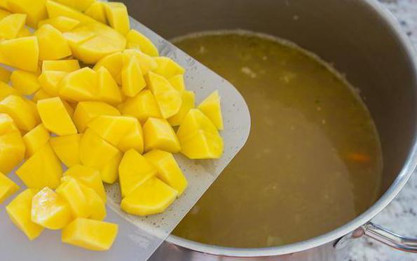 Класическа супа от кюфтенца