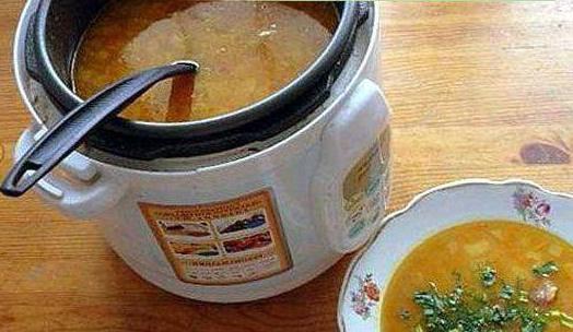 Супа с крокети в бавна рецепта за печка