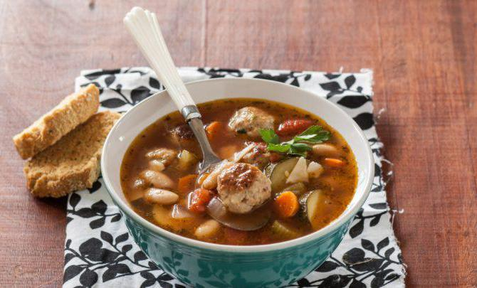 Кюфтета за супа от кайма