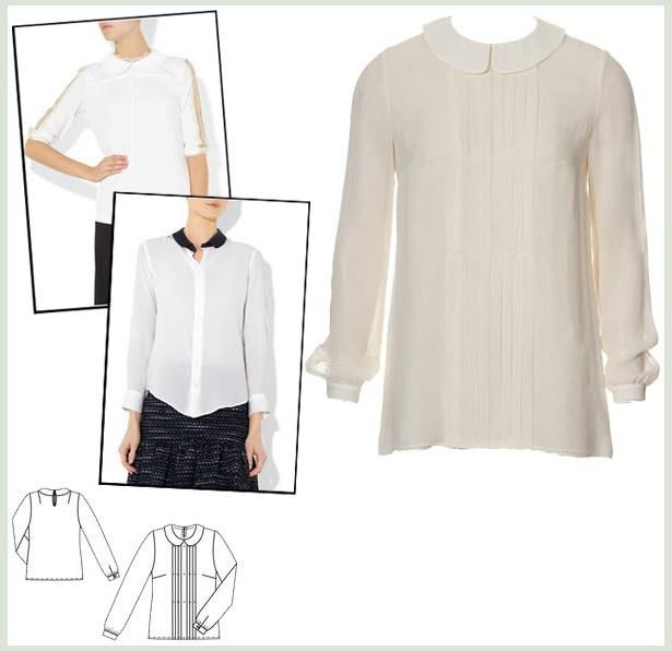 шифонске блузе